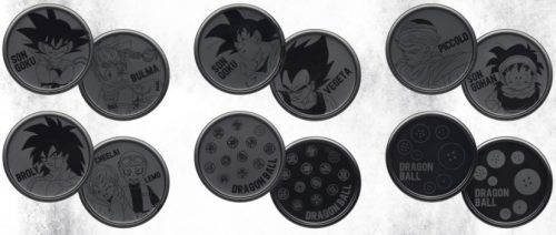 一番くじ ドラゴンボール EX 地球を守る戦士たち G賞 メタルペアコースター 全6種