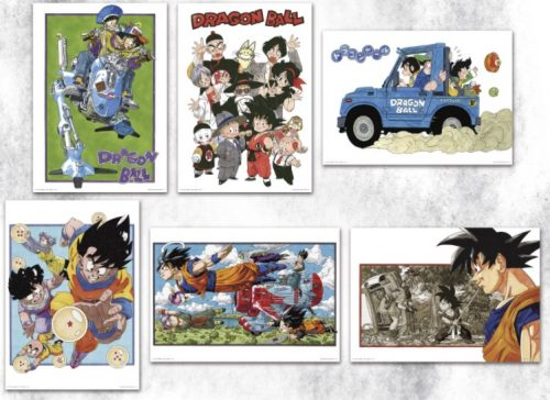一番くじ ドラゴンボール EX 地球を守る戦士たち I賞 ビジュアルボード 全6種