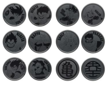 一番くじ ドラゴンボール EX 天下分け目の超決戦!! G賞 メダルペアコースター 全6種セット